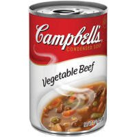 Campbell's Condensed Vegetable Beef Soup 10.5 oz (Pack of 48)