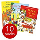 Richard Scarrys Best Collection Ever! 10 books collection. What do people do all day?... and other - Collection Richard