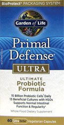 Garden of Life Primal Defense Ultra Capsules, 60 Count