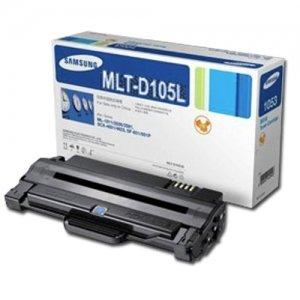 Samsung 105L OEM Toner Cartridge: Black MLT-D105L