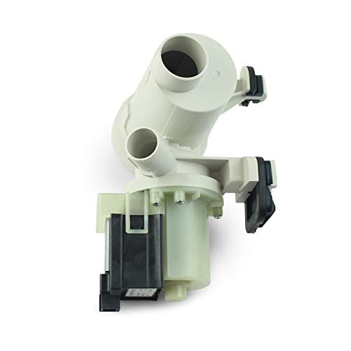 Washer Drain Pump replacement for Whirlpool Model W10130913 W10130914 by KOB