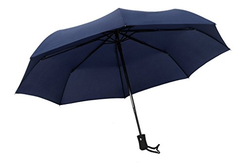 Century Star Windproof Auto Open Rain Folding Travel Sturdy Canopy Umbrella - In Stores Mall Galleria