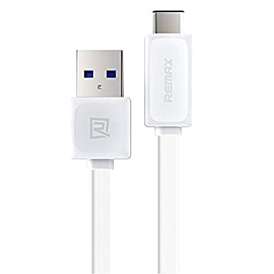 Quick Power Flat USB-C Cable for LG H870 with USB 3.0 Gigabyte Speeds and Quick Charge Compatible! Black 3.3ft//1M