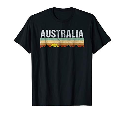 Retro Vintage Australia Tee Shirt