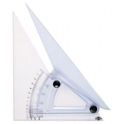 Alvin 12-Inch Computing Trig-Scale Adjustable Triangle (LX712K) ()