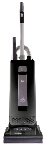 SEBO 9501AM Automatic X4 Upright Vacuum, Black – Corded