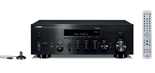 Yamaha Hi-Fi Audio Component Receiver Black (R-N803BL) by Yamaha