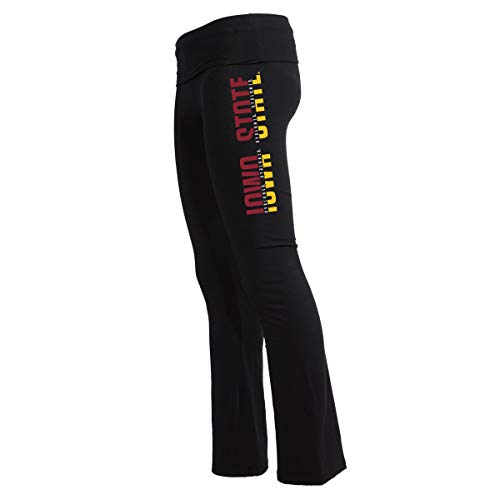 Official NCAA Iowa State Cyclones Women's Athlesiure Legging Yoga Pants -
