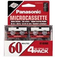 RT-604MC Audio Cassette (Microcassette Storage)