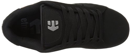 EtniesFader, Zapatillas de Skateboard Hombre Negro (Black/Silver/Gum569)
