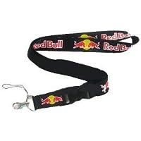 Llavero Lanyard Red Bull Negro Bebida Badge Correa para el ...