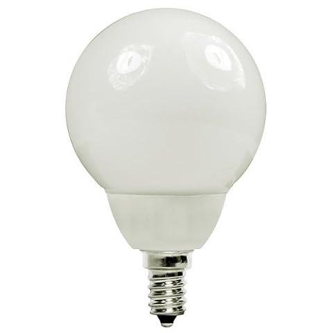 Energy Miser FE-G16-7W/50K - 7 Watt CFL Light Bulb - Compact Fluorescent - G16 - 30 W Equal - 5000K Full Spectrum - 80 CRI - 50 Lumens per Watt - 15 Month Warranty - Candelabra - Candelabra Compact