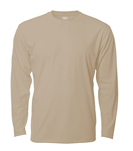 Denali Performance Men's Mega Solar ProtectUV Long Sleeve, Bermuda Tan, - International Sports Shop Bermuda