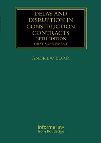 Delay and Disruption in Construction Contracts (Construction Variations Contract)