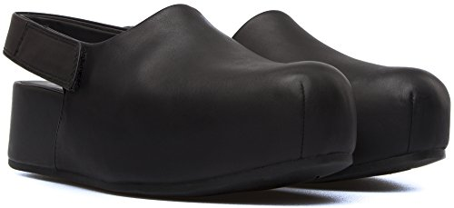 001 Isamu Mujer Camper Plataformas Negro K200411 qExFa