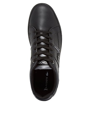 Lacoste Men's Europa 417 1 SPM Low-Top Sneakers Black nicekicks for sale visit for sale egBOBB