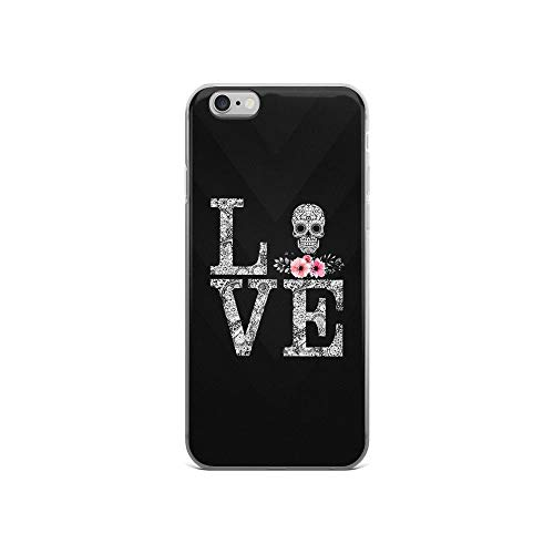 iPhone 6/6s Pure Clear Case Cases Cover Love Skull Typography Illustration]()