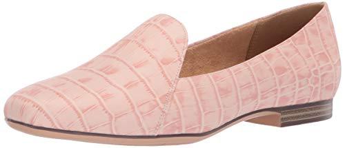 (Naturalizer Women's Emiline Shoe, Rose Pink Croc, 5 M US)