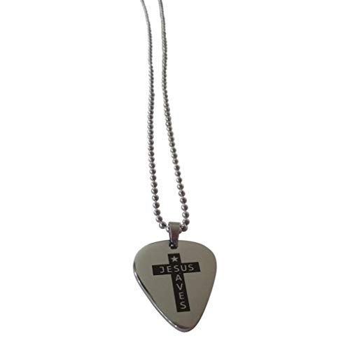 Necklace Christian Pick Guitar -