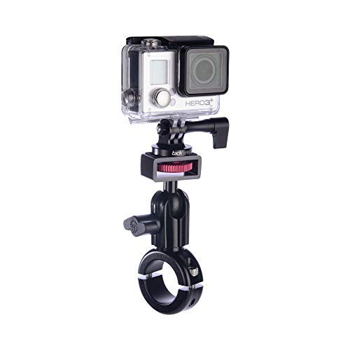 Tackform Motorcycle Mount for GoPro - [Enduro Series] Bar Mount and Trail Cam Compatible with GoPro and Other Action Cameras - All Metal, Built To Outlast You.
