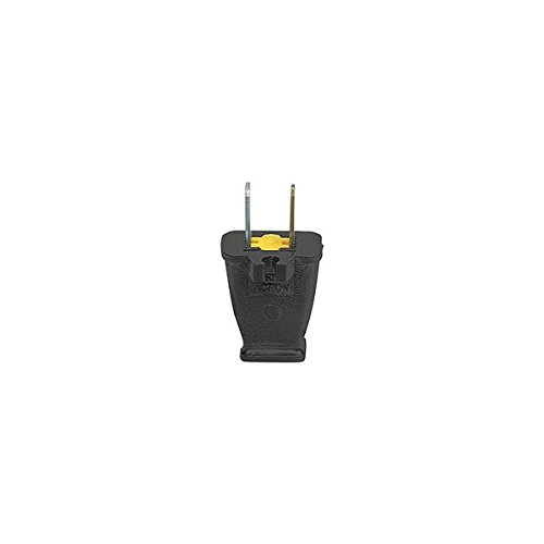 Cooper SA940 Spring Action Non-Grounded Polarized Electrical Plug with Cord Clip Pack of (Cooper Cord)