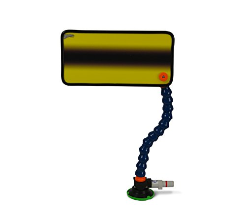 PC-102 Yellow Simple Fade PDR Reflector Board with Stand Paintless Dent Repair ()