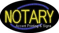 Notary Flashing & Animated LED Sign (High Impact, Energy Efficient)