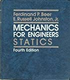 img - for Mechanics for Engineers: Statics by Ferdinand P. Beer, E. Russell Johnston Jr(September 1, 1986) Hardcover book / textbook / text book