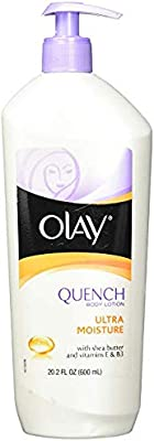 Olay Quench Ultra Moisture Shea Butter Body Lotion, 20.2 fl oz - Pack of 4