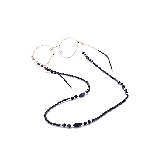 con 2 anillas antideslizantes de silicona apto para gafas de sol gafas de lectura//gafas 75 cm de longitud 60 10 cadenas de gafas con cord/ón VEGCOO