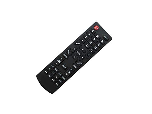 Replacement Remote Control Fit for Dynex DX-19E220A12 DX-24E