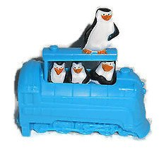 Madagascar McDonalds Happy Meal Toy (2012) 3 - The Penguins