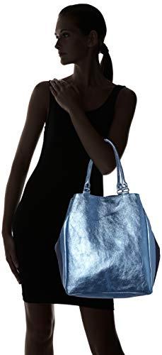 Y blu Azul Shoppers De Mujer Bolsos Cbc34015tar Chicca Borse Hombro qvtwRpp
