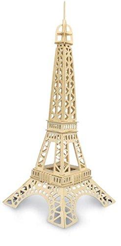 Tour Eiffel QUAY Kit de construction en bois FSC