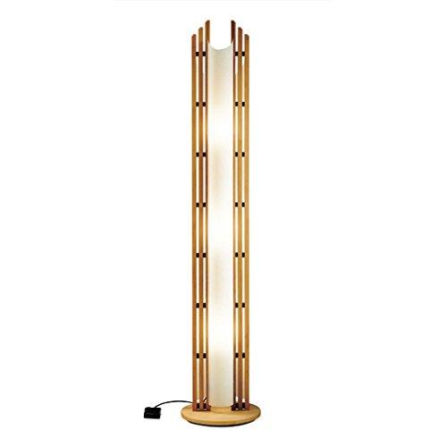 Justice Design Wood Floor Lamp - 2