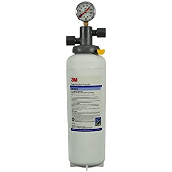 3M Water Filtration Products Filter Cartridge, Model HF60-S, Scale Inhibition, 35000 Gallon Capacity, 3.34 gpm Flow Rate, 0.2 Micron