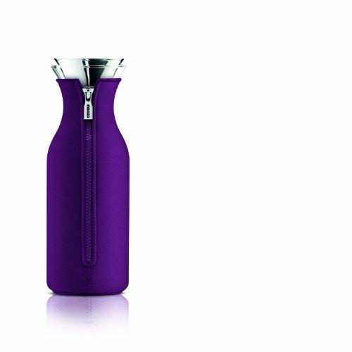 Kühlschrankkaraffe mit Neoprenanzug Dark purple 1,0 l