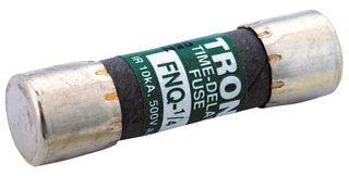 COOPER BUSSMANN FNQ-1/2 FUSE, 500mA, 500V, TIME DELAY (Fuse Delay Tron Time)
