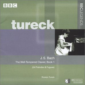 - Bach: Well-Tempered Clavier, Book 1