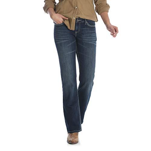 (Wrangler Women's Shiloh Low Rise Boot Cut, Talk of The Town, 9W x 34L)