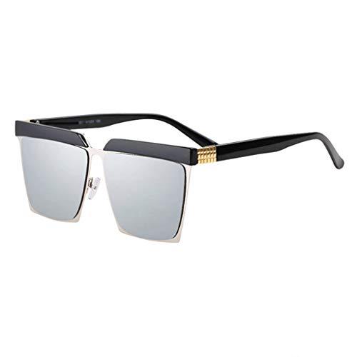 Big Soleil Lunettes Box de rétro Personnalité Style Femme B B de soleil Des Couleur Garde Sport carrées Avant lunettes 7qv8gnwxf