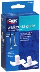 Carex Walker Ski Glides, Pack of 6