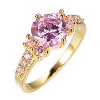 pixel-jewelry-1985-680-ct-pink-sapphire-wedding-rings-size8-jewelry-ladys-10k-yellow-gold-filled