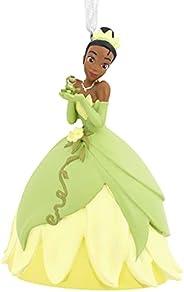 Hallmark Disney The Princess and The Frog Tiana with Frog Prince Naveen Christmas Ornament