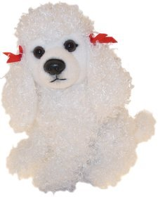 f099b26f2da Image Unavailable. Image not available for. Colour  WHITE POODLE SOFT AND CUDDLY  TOY