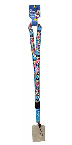 Disney Mickey & Friends Lanyard Keychain-Keyring