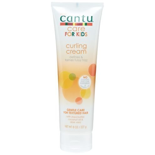 Cantu care for kids curling cream defines and tames fussy frizz duo set of 2