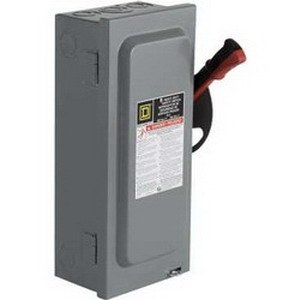 SCHNEIDER ELECTRIC Switch 100-Amp 3-Point H363SS Sw Fusible Hd 100A ...