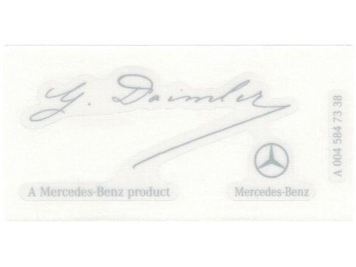 genuine-oem-mercedes-benz-g-daimler-signed-windshield-sticker-signature-decal-clear-label