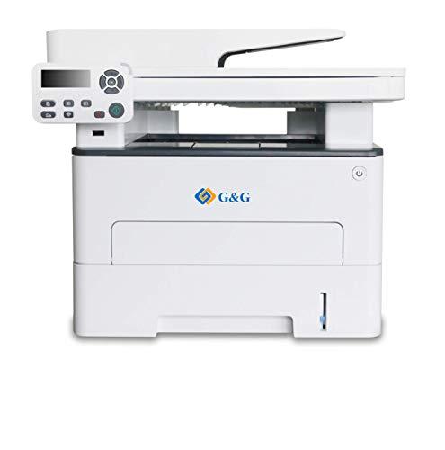 G&G Laserdrucker Multifunktionsgerät S/W 3-in-1, M4100DW Duplex – 33 Seiten/Min, Laserdrucker, Kopierer, Scanner, ADF…